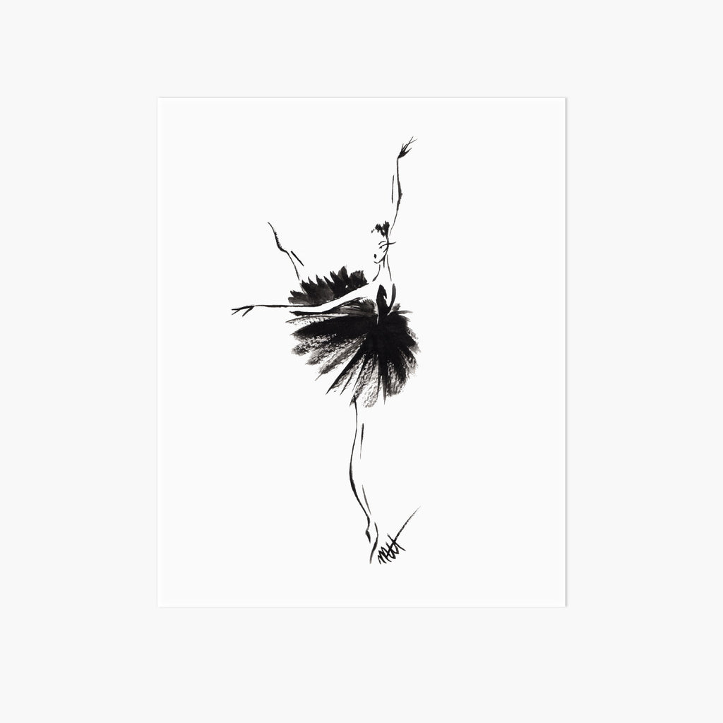 Odile Art Print - Pointebrush
