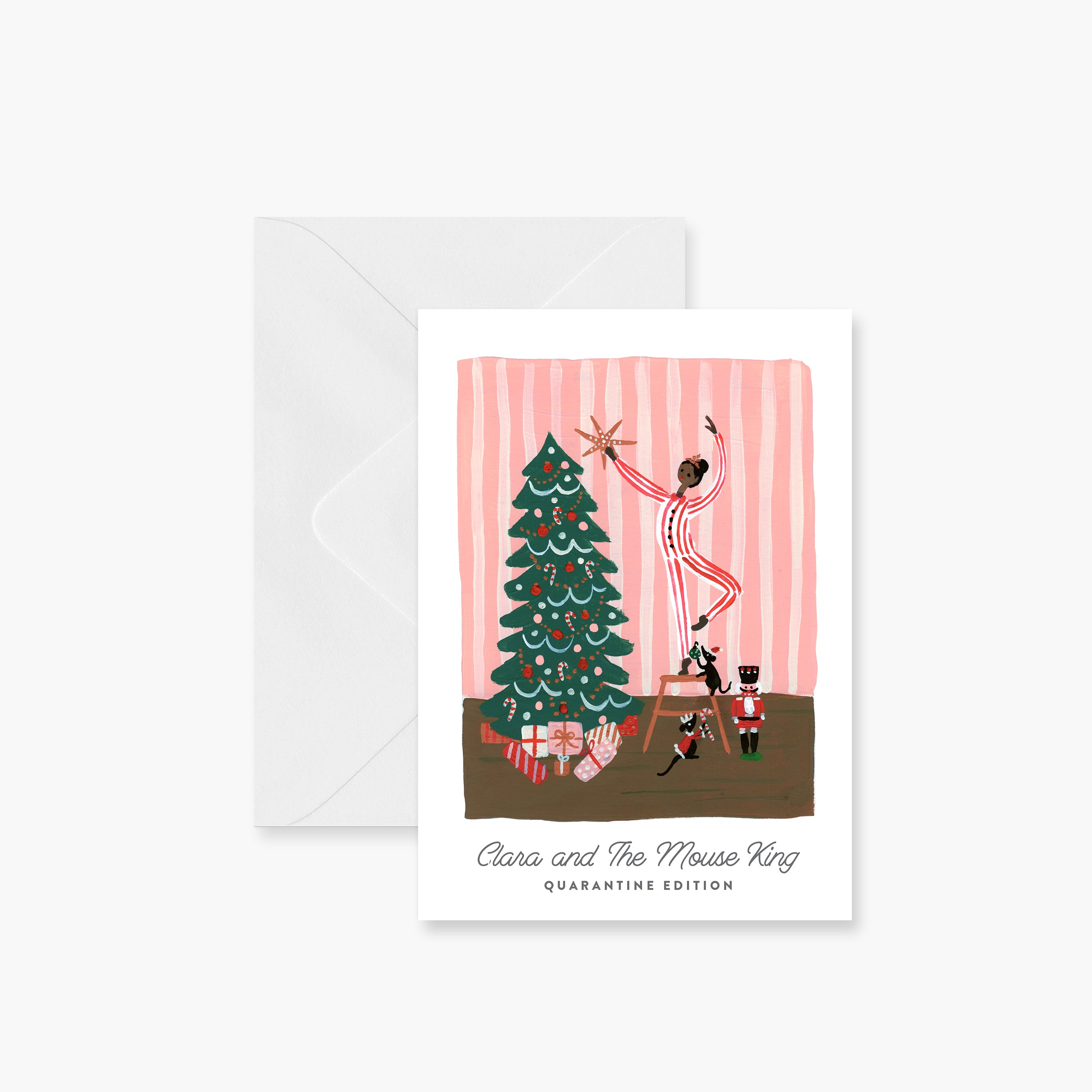 Clara and the Mouse King Holiday Card