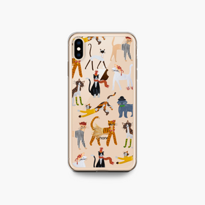 Party of Cats iPhone Case