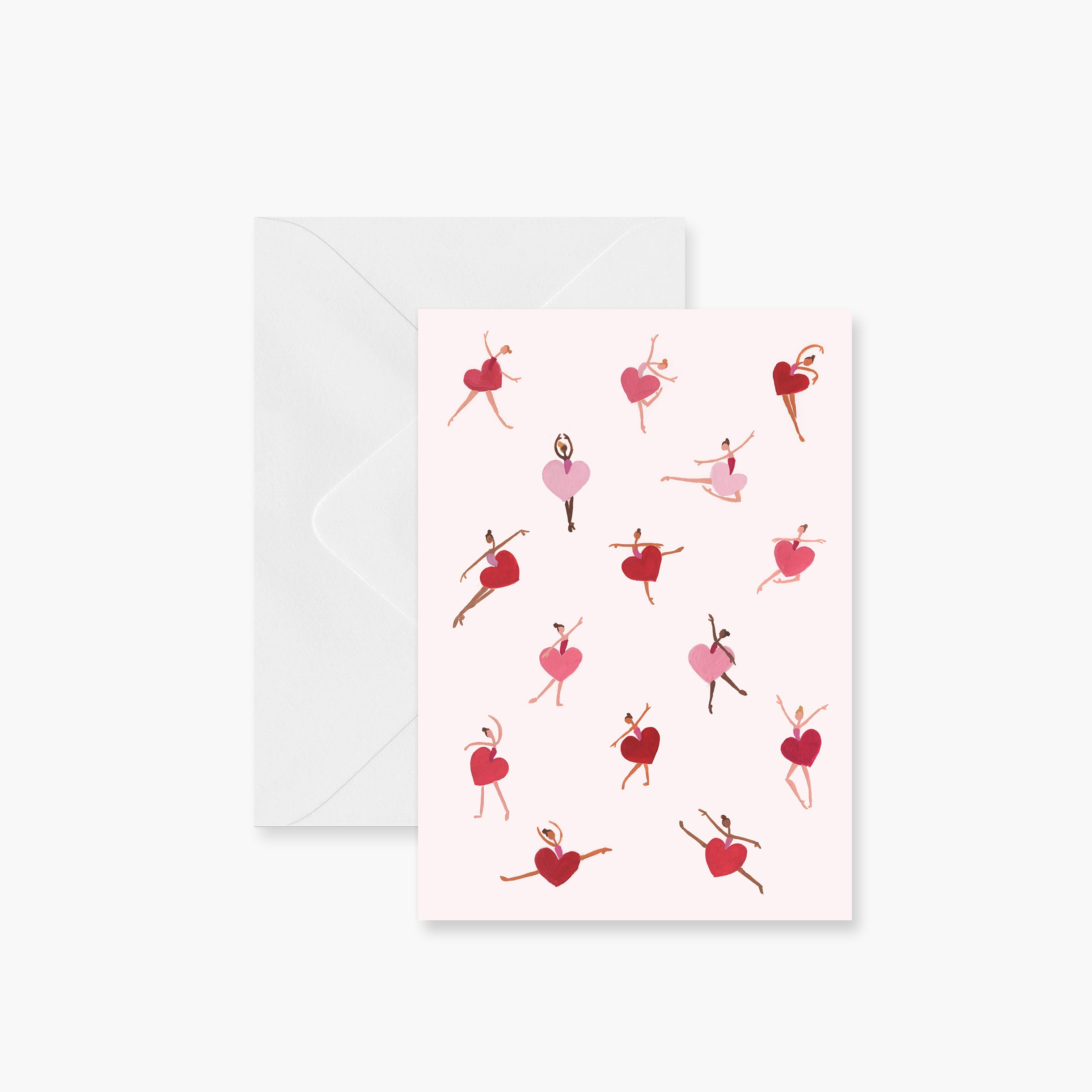 Valentine Dancers Greeting Card