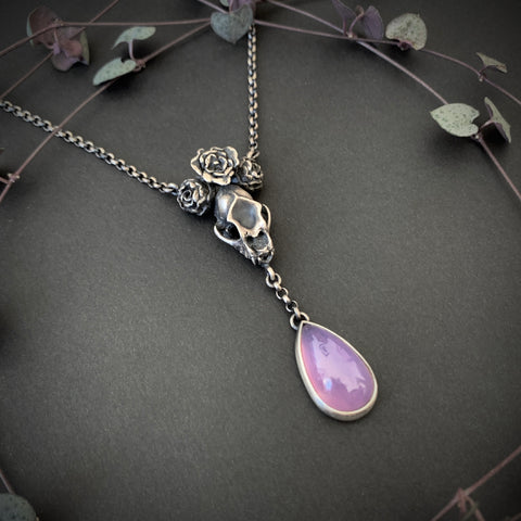 Grand High Witch Necklace - Purple Chalcedony