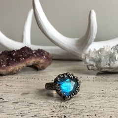 CLEARANCE - Children of the Forest Ring - Size 6.75 - OOAK