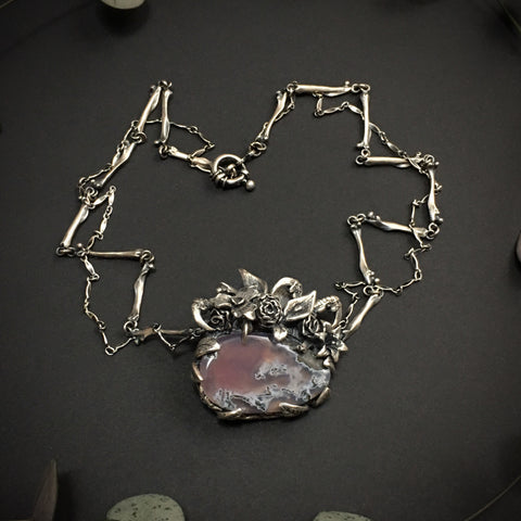 Secret Garden IV Necklace OOAK