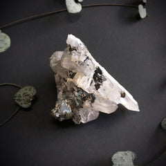 Quartz with sphalerite
