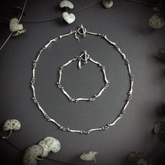 Chain Of Bones - Necklace or Bracelet