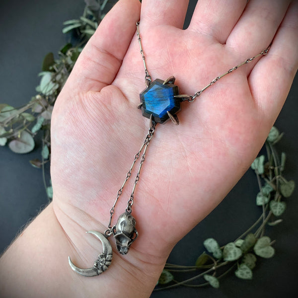 Harbinger Necklace I - OOAK Labradorite