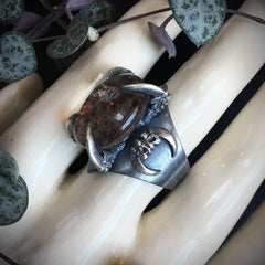 Lunarscape Ring - Size 7 - OOAK