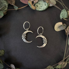 Luna Magnus Hoop Earrings - Ready to Ship