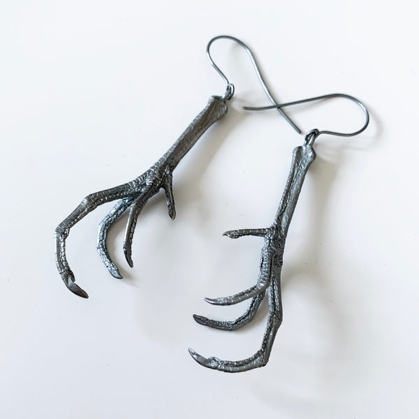 Tethered Claw Earrings - Ready to ship
