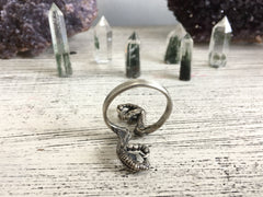 Double Parrot Claw Ring - Size 8 - Ready to Send