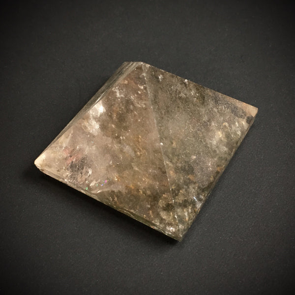 Phantom Quartz Crystal Pyramid