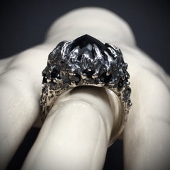Midnight Dreary Ring - Size 8 - Ready to Ship