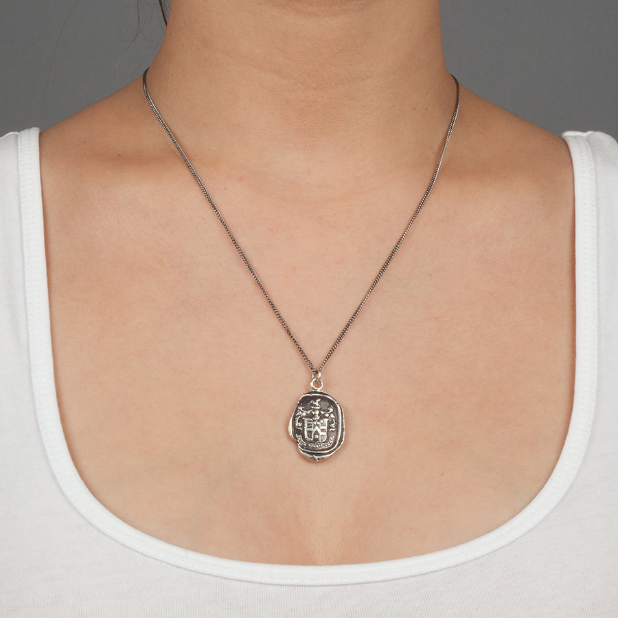 PYRRHA LOVE CONQUERS ALL TALISMAN NECKLACE