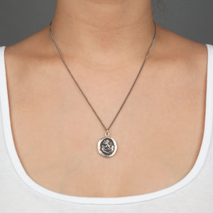 FROM GOD PYRRHA TALISMAN NECKLACE