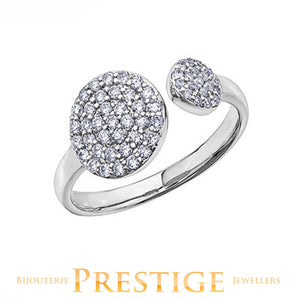FASHION DIAMOND RING - 10KT GOLD