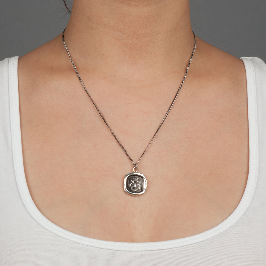 PYRRHA INNER STRENGTH TALISMAN NECKLACE