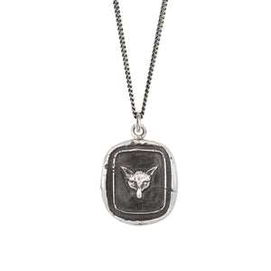 PYRRHA FOX TALISMAN NECKLACE