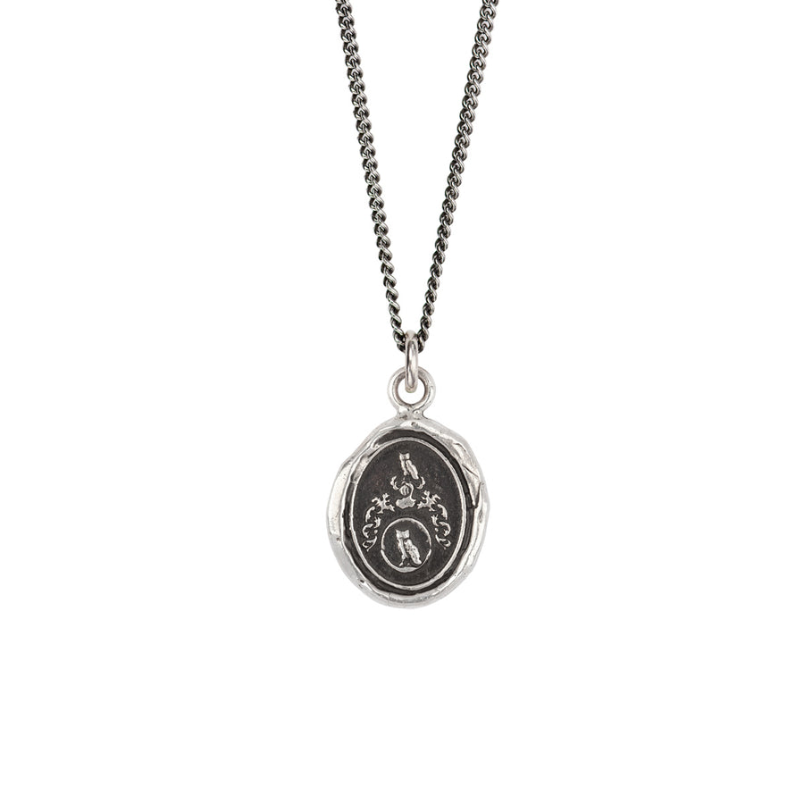 PYRRHA LEAN ON ME TALISMAN NECKLACE