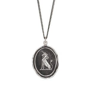 PYRRHA POWER TO HEAL TALISMAN NECKLACE