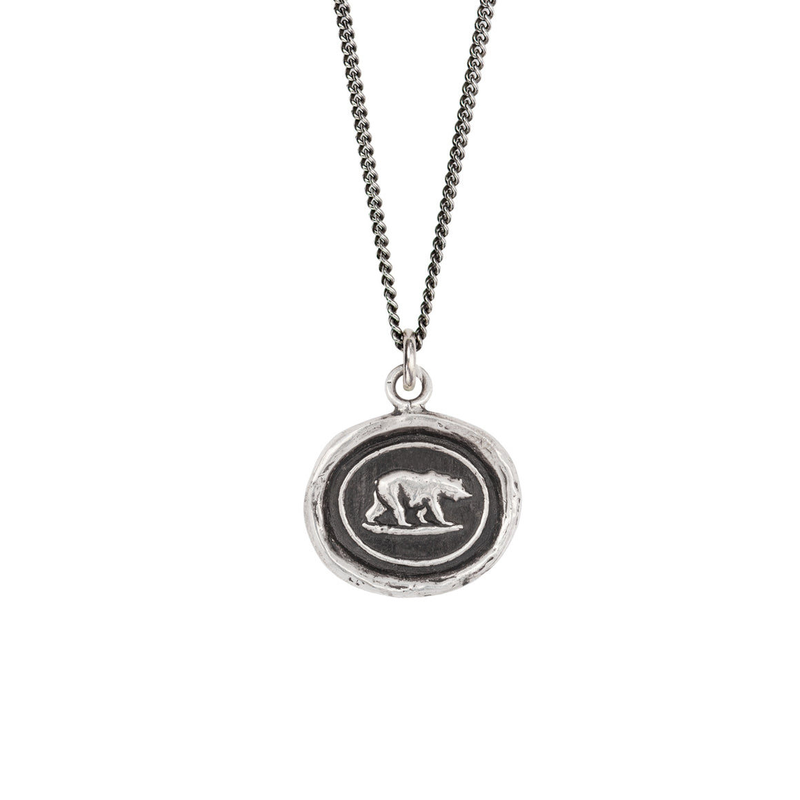 PYRRHA MOTHER BEAR TALISMAN NECKLACE