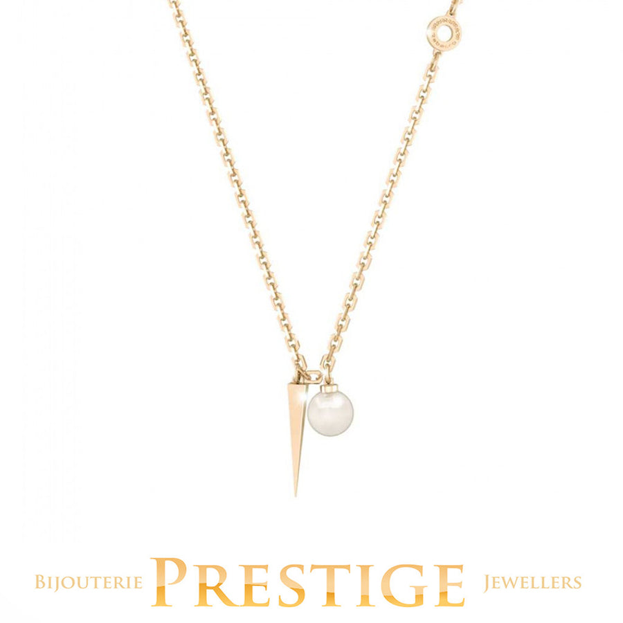 REBECCA TRILOGY NECKLACE WITH PEARL