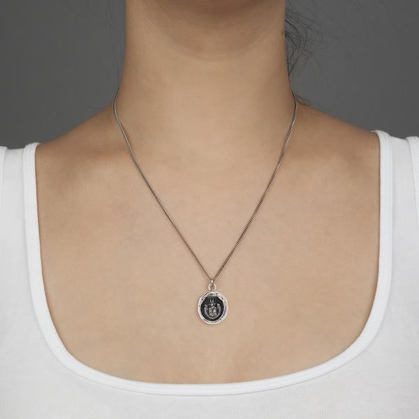 PYRRHA BE HERE NOW TALISMAN NECKLACE