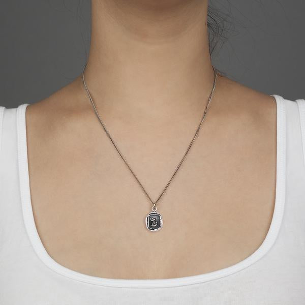 PYRRHA PEACE OF MIND TALISMAN NECKLACE