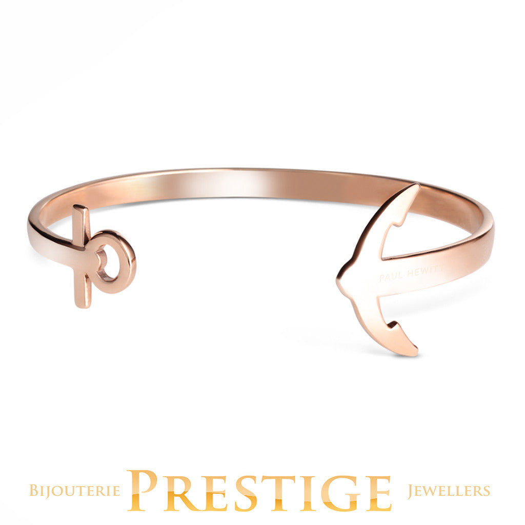 PAUL HEWITT ANCUFF ROSE GOLD PLATED BRACELET