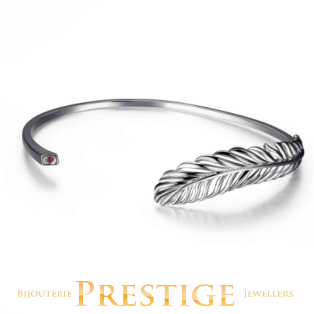 ELLE PLUME OPEN FEATHER CUFF 7.25""