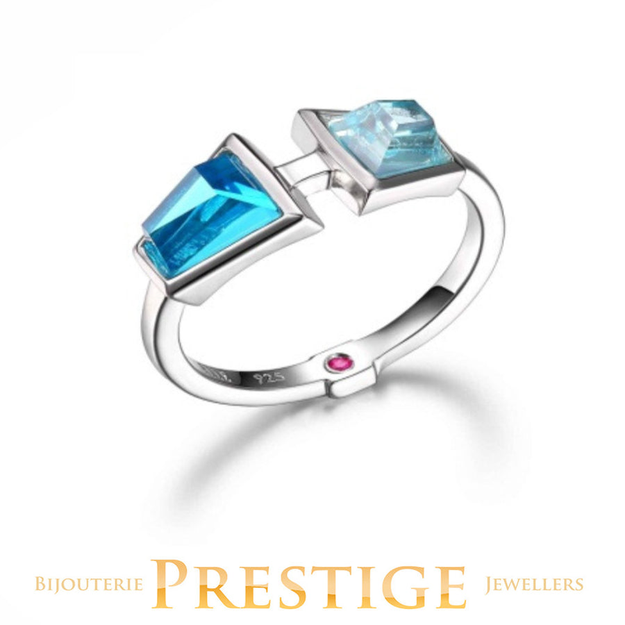 ELLE PARADOX BLUE CZ RING - MULTIPLE SIZES