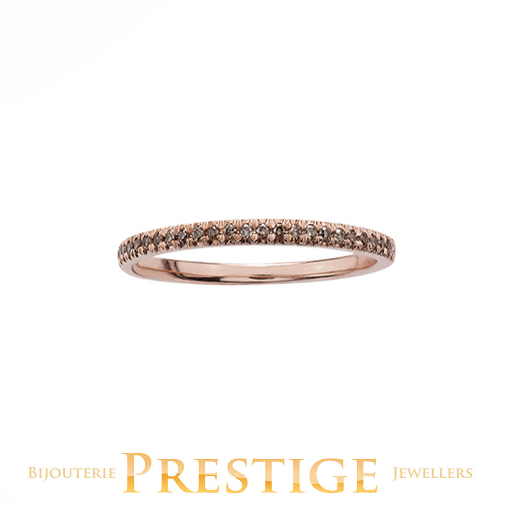 10 Karat Gold Coloured Diamond Bands