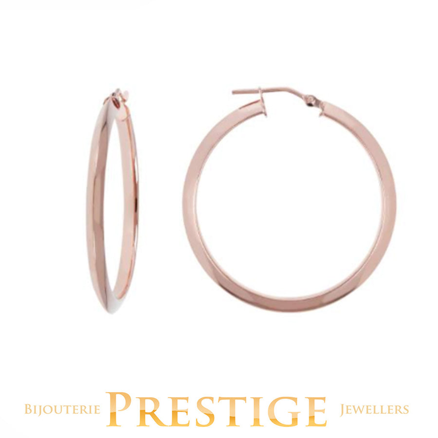 BRONZALLURE HOOP EARRINGS