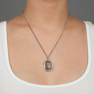 PYRRHA WHOLE HEARTED TALISMAN NECKLACE