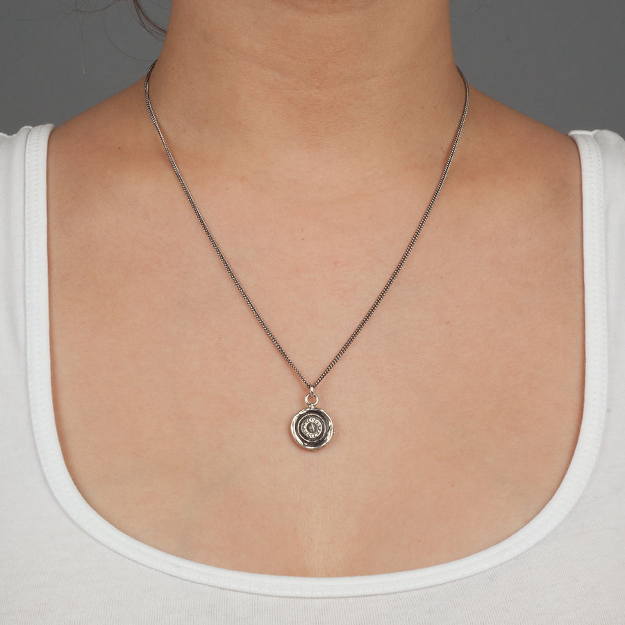 PYRRHA SAFE TRAVELS TALISMAN NECKLACE