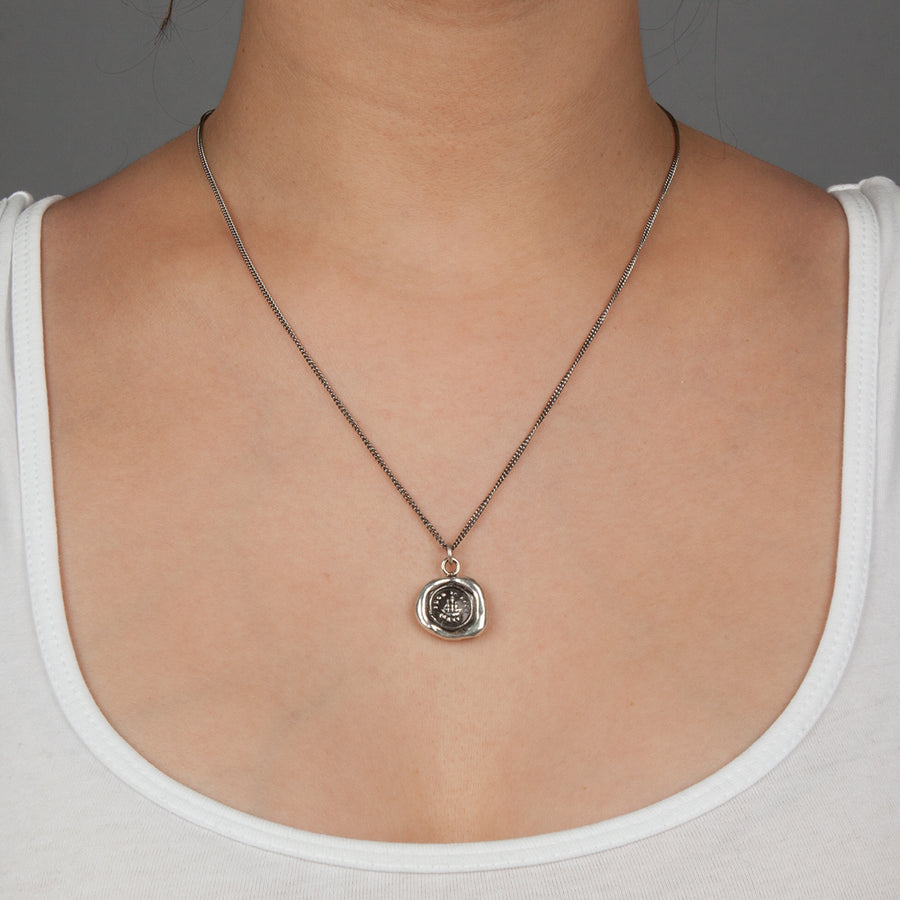 PYRRHA SUCH IS LIFE TALISMAN NECKLACE