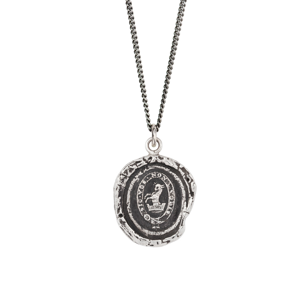 DEVOTED FATHER PYRRHA TALISMAN NECKLACE