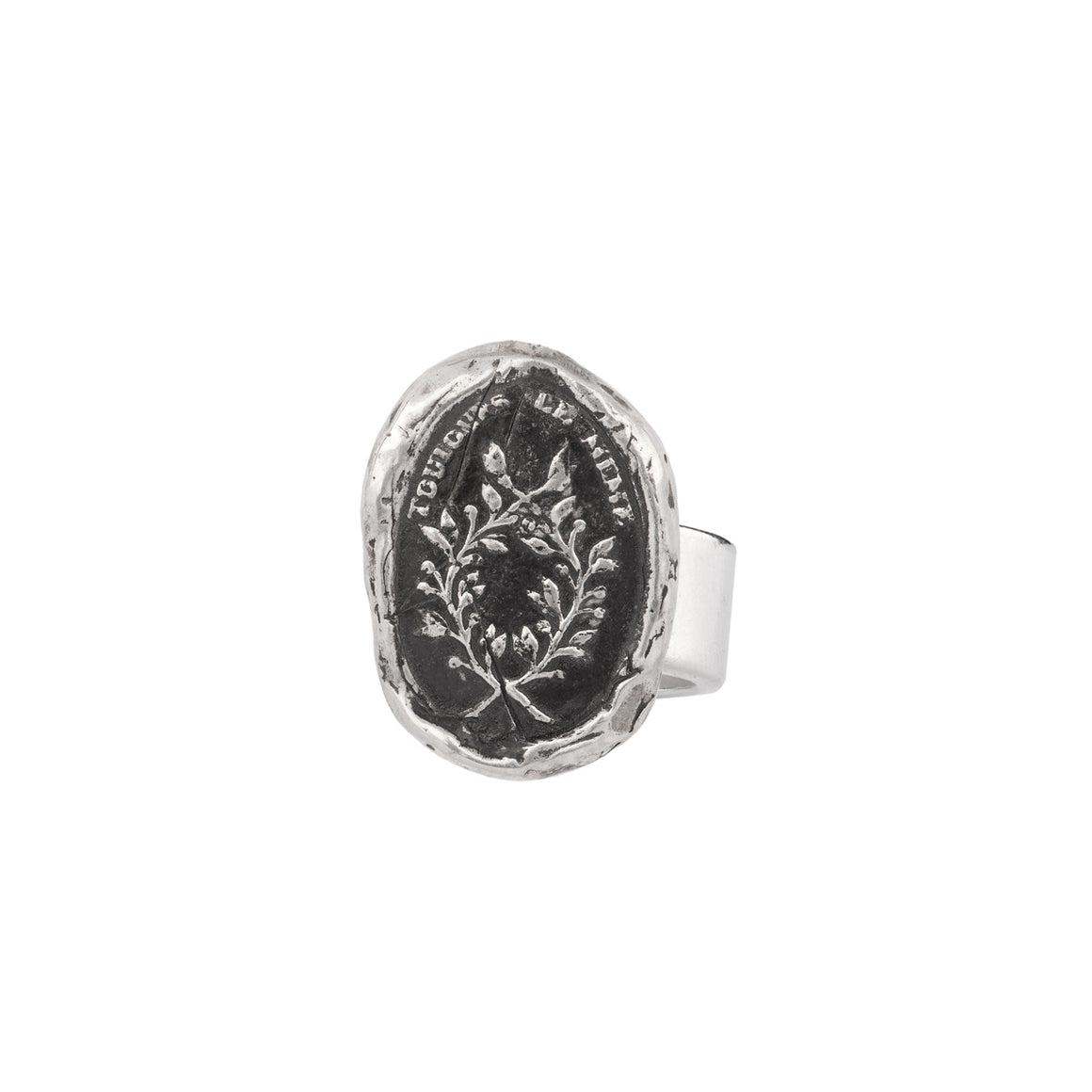 INTEGRITY RING PYRRHA TALISMAN RING - SIZE 7