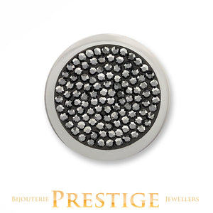 MI-MONEDA DIAMOND DISC STAINLESS STEEL ONE SIDED COIN - SMALL