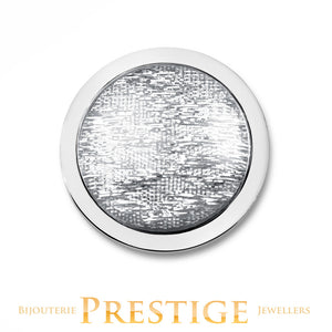 MI-MONEDA INTENSO STAINLESS STEEL ONE SIDED COIN - MEDIUM