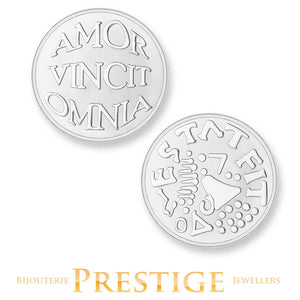 Mi-Moneda Amo & Vivo Plated Reversible Coin - Multiple Sizes