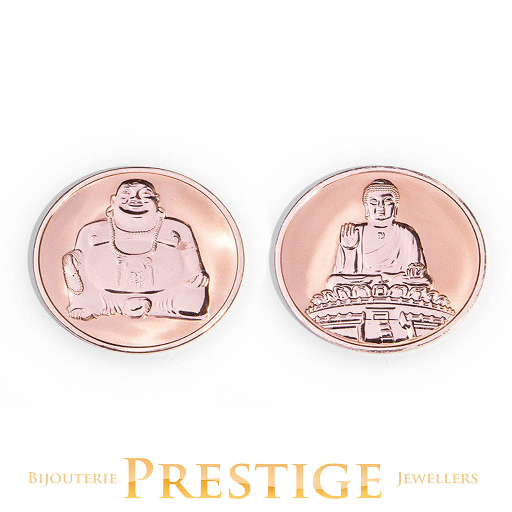 Mi-Moneda Buddha & Buddha Reversible Coin - Multiple Sizes