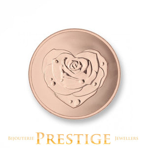MI-MONEDA ROSE & OWE TO YOU PLATED REVERSIBLE COIN - MULTIPLE SIZES