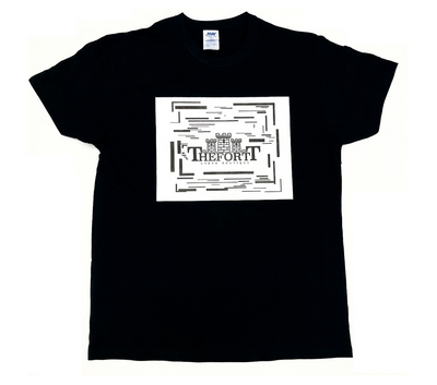 THE FORTT LOGO TEE BLACK