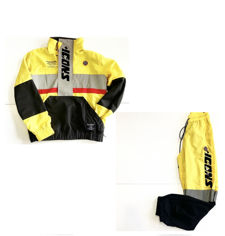 3M YELLOW JOGGER SUIT