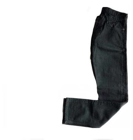 BLACK SLIM FIT STRAIGHT