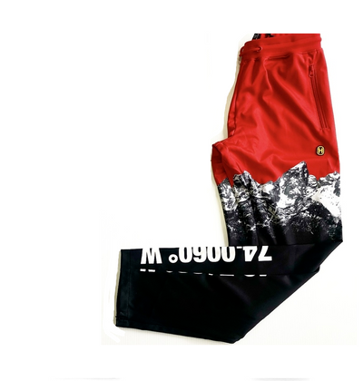 MOUNTAIN JOGGERS RED