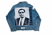 LIGHT BLUE MAFIA JACKET