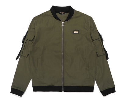 LEXINGTON TRACK JACKET OLIVE