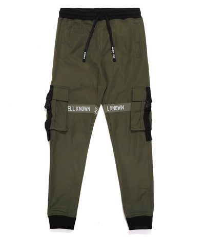 LEXINGTON TRACKPANTS - OLIVE