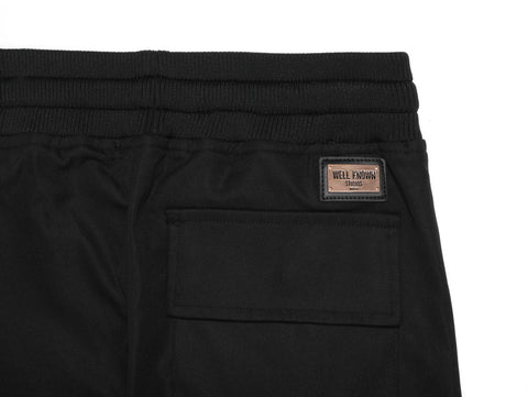 LEXINGTON TRACKPANTS - BLACK